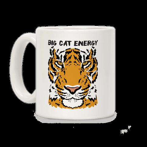 Big Cat Energy Tiger Coffee Mug