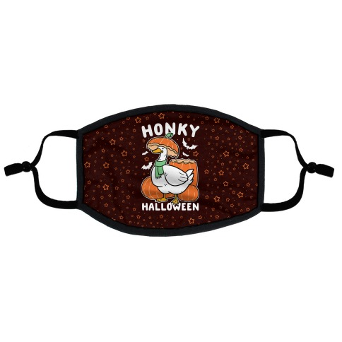 Honky Halloween Flat Face Mask