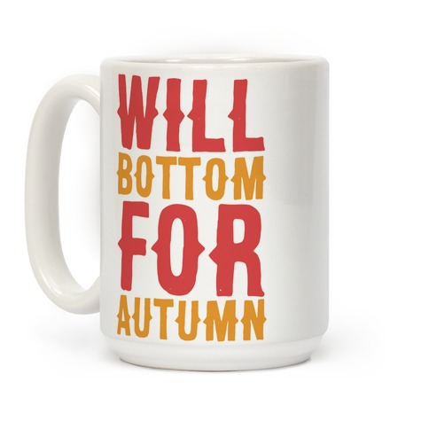 Will Bottom for Autumn Coffee Mug