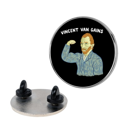 Vincent Van Gains Pin