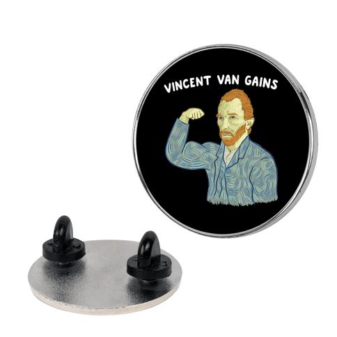 Vincent Van Gains Pin