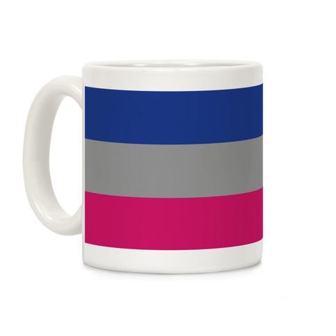 Androgynous Pride Flag Coffee Mug