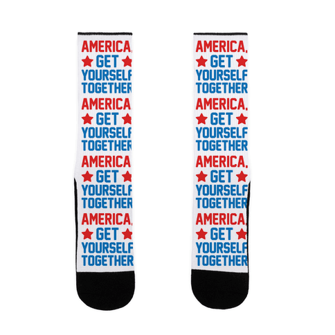 America, Get Yourself Together Sock