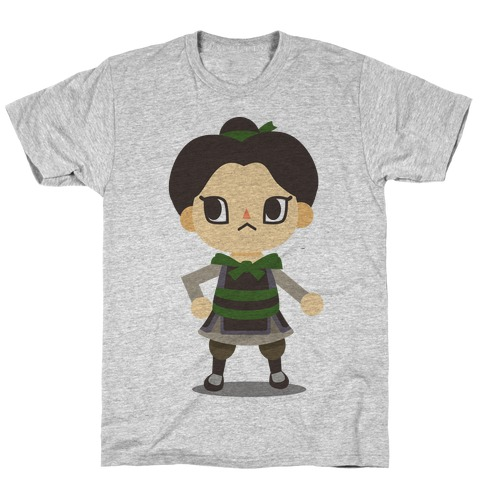 Princess Crossing Ping Parody T-Shirt