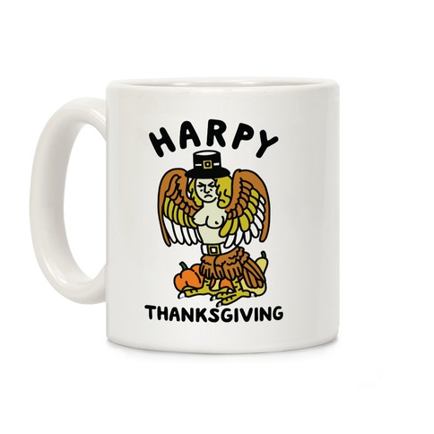 Harpy Thanksgiving Coffee Mug
