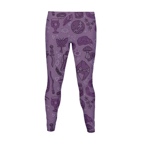 Witchy Pattern Women's Legging