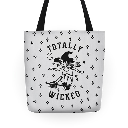 Totally Wicked Sk8r Witch Tote
