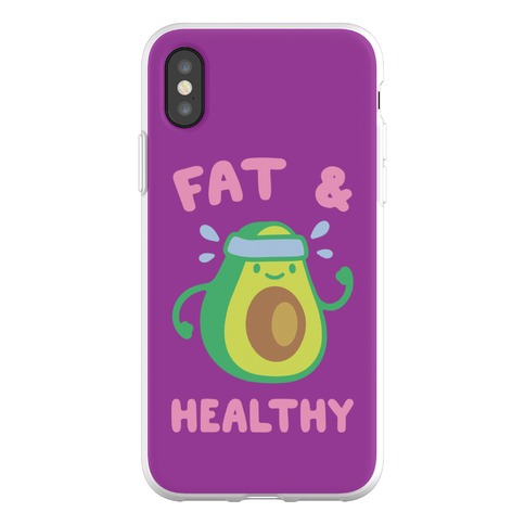 Fat And Healthy Phone Flexi-Case