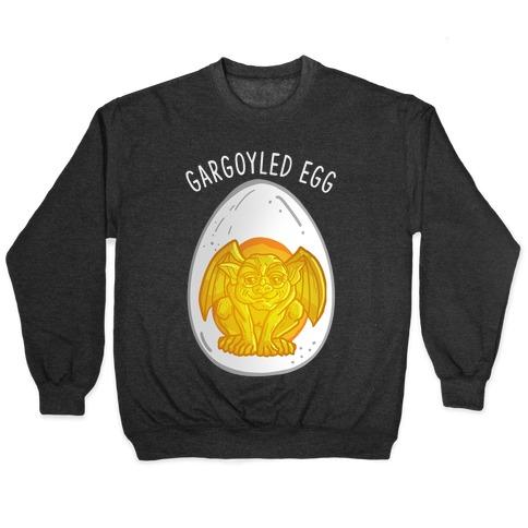 Gargoyled Egg Pullover