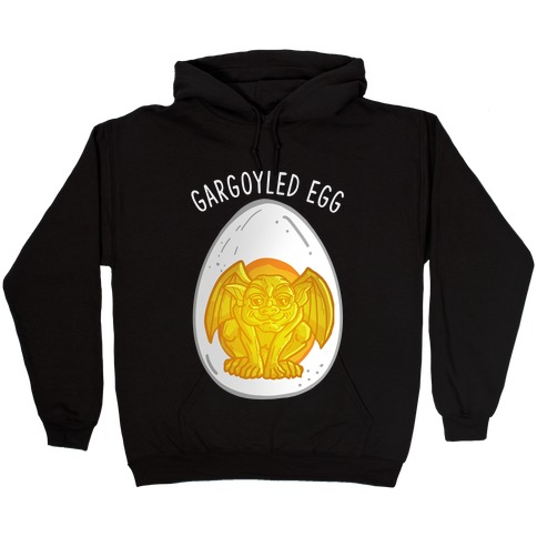 Gargoyled Egg Hooded Sweatshirt