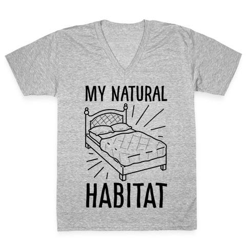 My Natural Habitat V-Neck Tee Shirt