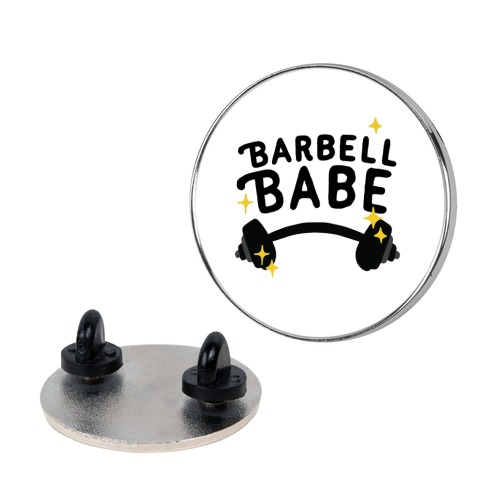 Barbell Babe Pin