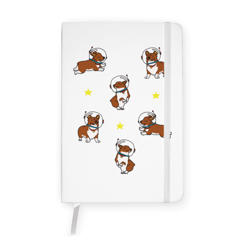 Unidentified Floating Corgi Notebook