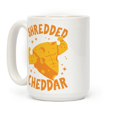Shredded Cheddar Coffee Mug