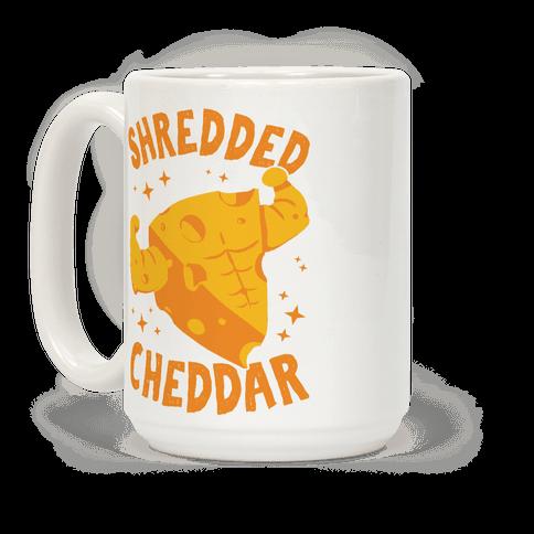 Shredded Cheddar Coffee Mug