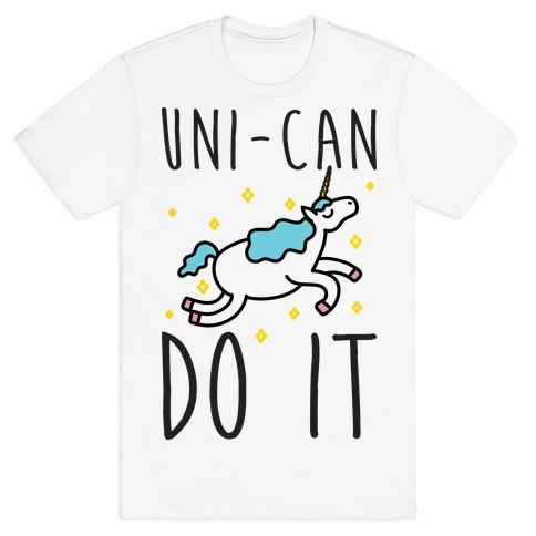 Uni-can Do It Unicorn T-Shirt