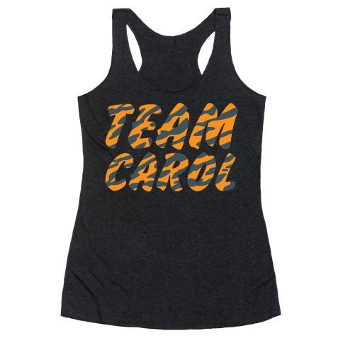 Team Carol Parody Racerback Tank Top