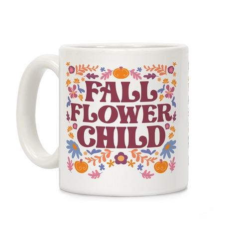Fall Flower Child Coffee Mug