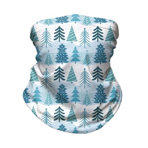 Christmas Tree Pattern Neck Gaiter