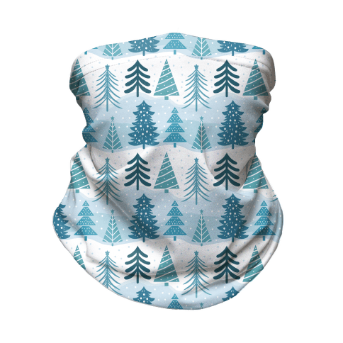 Christmas Tree Pattern Neck Gaiter