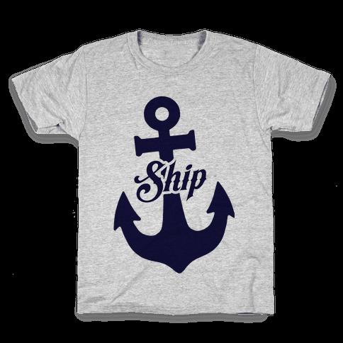 Ship Mates (Ship) Kids T-Shirt