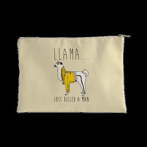 Llama Just Killed A Man Parody Accessory Bag
