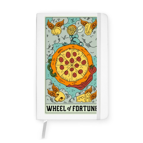Wheel Of Fortune Pizza Notebook