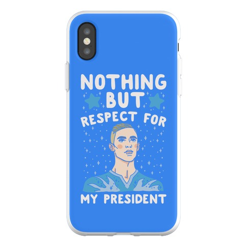 Nothing But Respect For My President Adam Rippon Parody Phone Flexi-Case