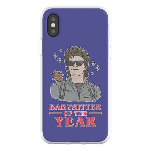 Babysitter of the Year Phone Flexi-Case