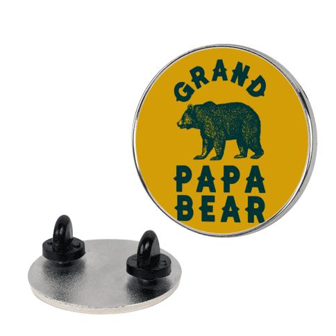 Grandpapa Bear pin