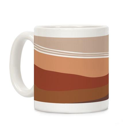 Terracotta Peach Sunset Coffee Mug