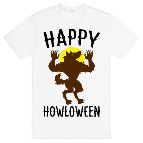 Happy Howloween Werewolf Parody T-Shirt