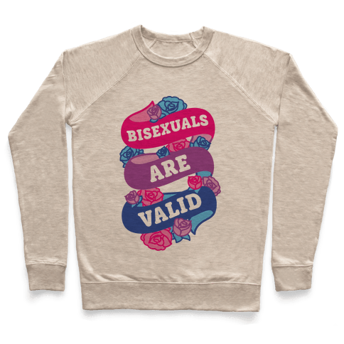 Bisexuals Are Valid Pullover