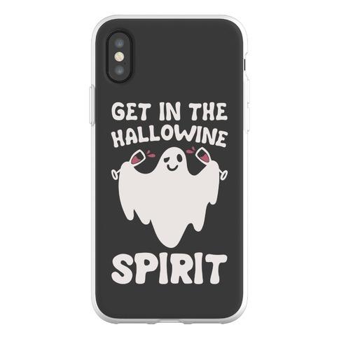 Get in The Hallowine Spirit Phone Flexi-Case