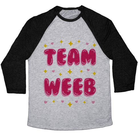 Team Weeb Baseball Tee