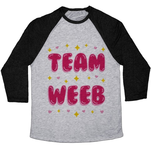 Team Weeb Baseball Tee