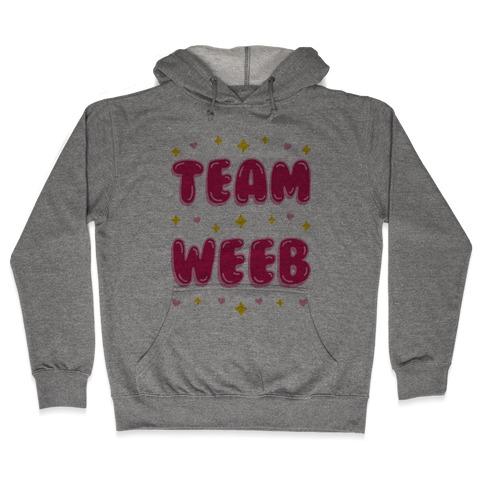 Team Weeb Hooded Sweatshirt
