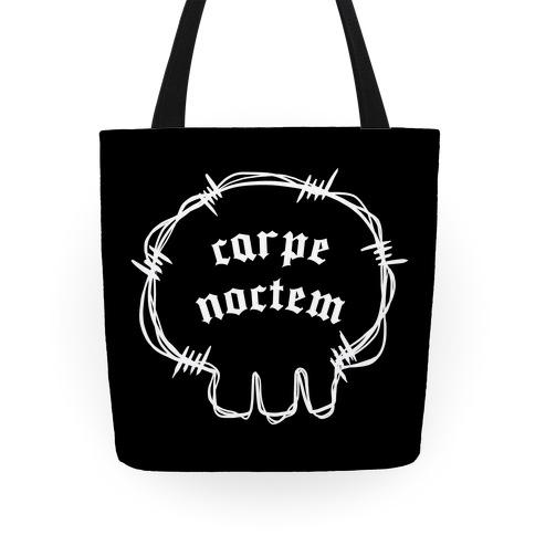 Carpe Noctem (black)  Tote