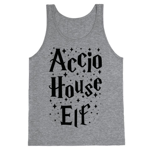 Accio House Elf Tank Top