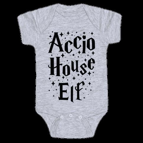 Accio House Elf Baby Onesy