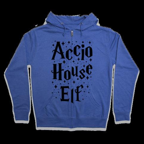 Accio House Elf Zip Hoodie