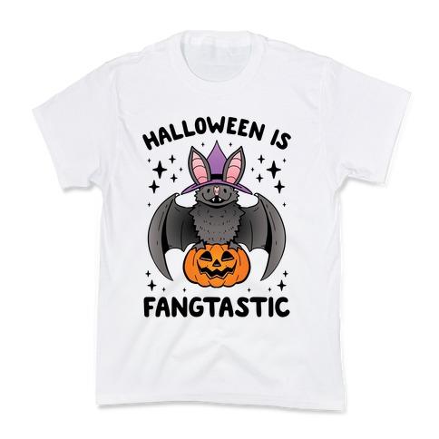 Halloween is Fangtastic Kids T-Shirt