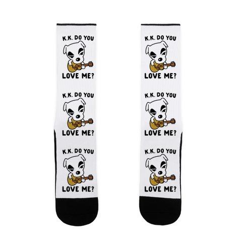 K.K. Do You Love Me Parody Sock