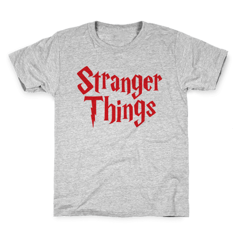 Stranger Harry Things Potter Kids T-Shirt