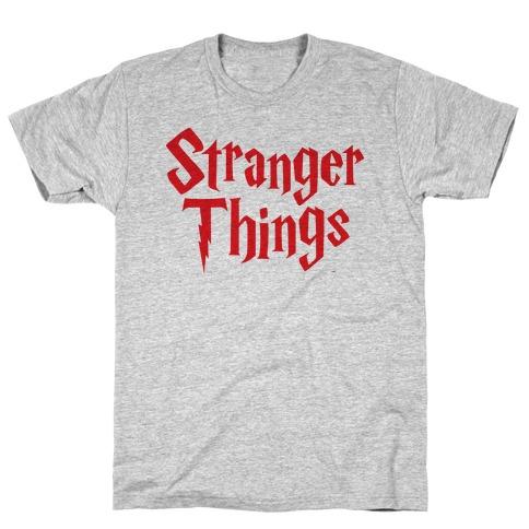 Stranger Harry Things Potter T-Shirt