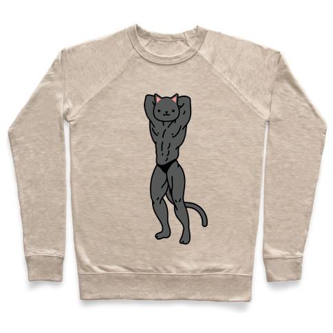 Buff Cat Black Pullover