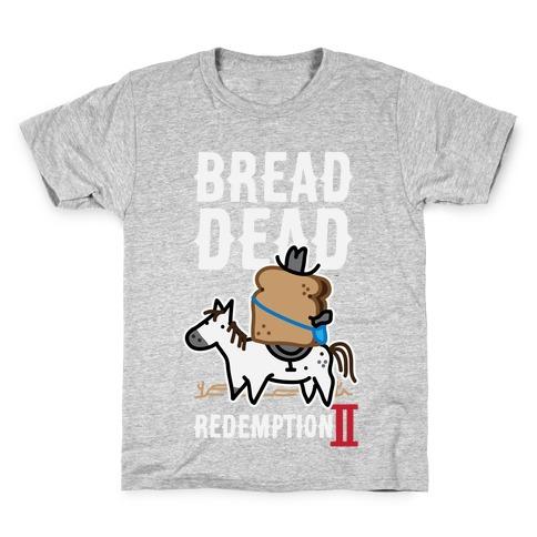 Bread Dead Redemption 2 Kids T-Shirt