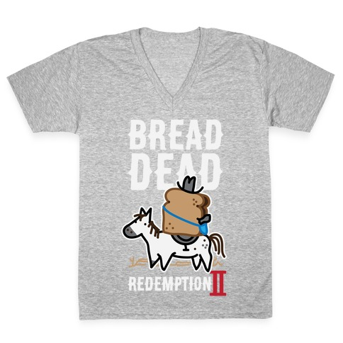 Bread Dead Redemption 2 V-Neck Tee Shirt