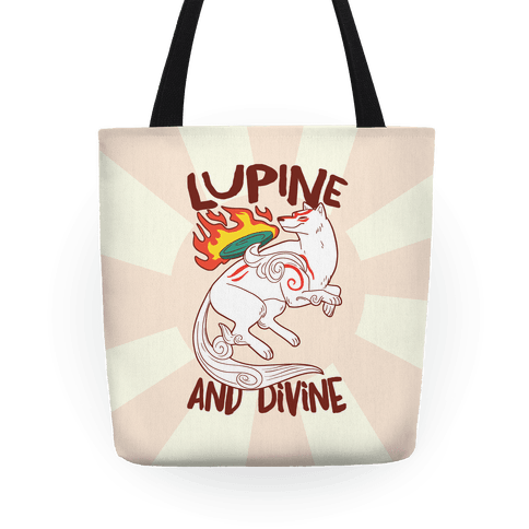 Lupine and Divine  Tote