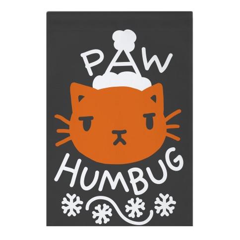 Paw Humbug Cat Garden Flag